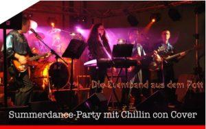Sa 16.06.2018 | Summerdance-Party mit Chillin con Cover