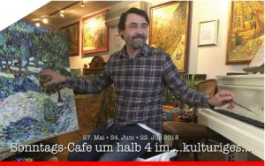 So 22. Juli 2018 | Sonntags-Cafe um halb 4